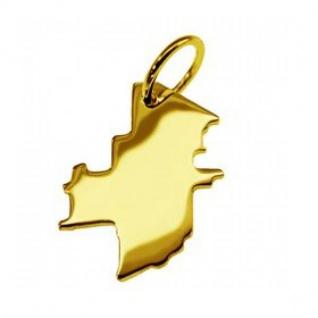 WINNIPEG Kettenanhänger in massiv 585 Gelbgold