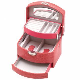 Davidt's Schmuckkoffer mit Spiegel, rosa