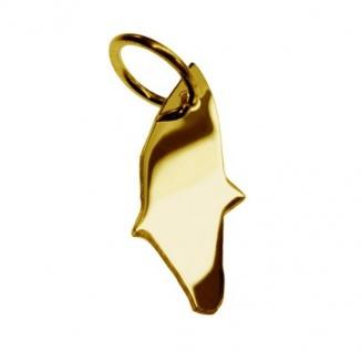 RHODOS Kettenanhänger aus massiv 585 Gold