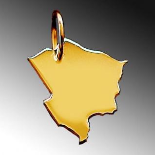BOTSWANA Kettenanhänger aus massiv 585 Gelbgold