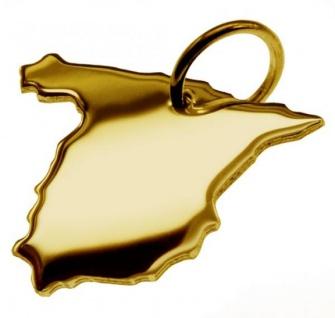 SPANIEN Kettenanhänger aus massiv 585 Gold