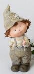 formano Gartenzwerg Paul stehend aus Kunststein, 28 cm