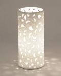 Tischlampe Romantik aus Porzellan, 23 cm