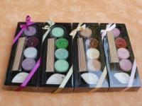 Duft-Räucher-Set in vier verschiedenen Farben