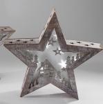 formano Deko-Stern, Häuschen mit integrierter LED Beleuchtung, 38 cm