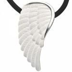 Anhänger Flügel Engelsflügel 925 Sterling Silber matt mattiert