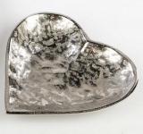 formano Deko-Schale in Herzform Alu Organic, 17 cm