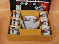 Kaffee-Set COFFEE, Mocca-Espresso 12teilig