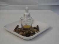 Buddha Kerzen-Set, 20, 5 cm