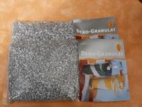 500 Gramm Dekogranulat-grob-silber
