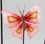 formano Gartenstecker Schmetterling in Rot, 22/85 cm
