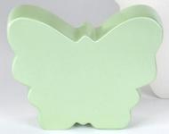 Glänzender Deko-Schmetterling grün