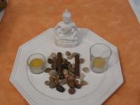 Kerzen-Set Buddha, 29, 5 cm