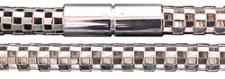 40 cm Collier mit Bajonettverschluss � 6 mm - 925 Silber Halskette