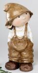 Willi als Zwerg in Creme und Braun, 30 cm