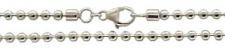 70 cm Kugelkette � 3 mm - 925 Silber Halskette