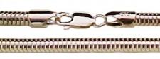 80 cm Schlangenkette - 5 mm - 925 Silber Halskette