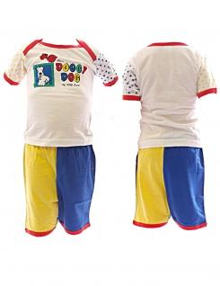Baby T-Shirt Shorts 2-tlg. kurze Hose Shirt Kinder Jungen Mädchen Kombi-Teil