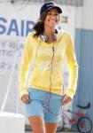 Kangaroos Damen Shorts Streifen Bermuda kurze Hose blau weiß Gr. 32 34 553088
