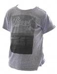 Kinder T-Shirt Kurzarm Shirt bedruckt Brasil Tank Top Jungen Mädchen FL-MT-101