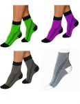 Elastische Sport Activ Kompressions Kurzstrümpfe Strümpfe Socken kurz 0406
