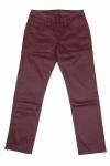 B.C. Damen Trendy 7/8 Hose Stretch Stretchhose Chinos bordeaux 030700