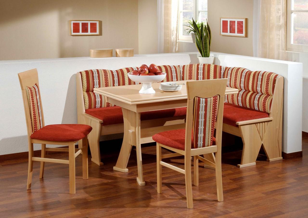 truhen eckbankgruppe buche natur dekor eckbank 2 st hle. Black Bedroom Furniture Sets. Home Design Ideas