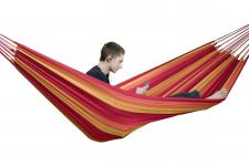 Hängematte aus Baumwolle, für 1 Person, L220 x B140 cm, Belastbarkeit max. 12...
