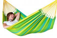 Hängematte aus HamacTex®, wetterfest, für 1 Person, L200 x B140 cm, in 2 Farben