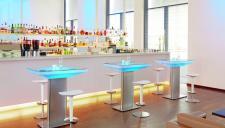 Moree Lounge Tisch Studio Indoor, beleuchtet, B 70 cm, L 100 cm, H 105 cm, mi...