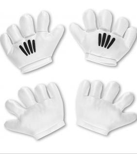 Karneval Klamotten Kostüm Handschuhe Maus Zubehör Comics Karneval