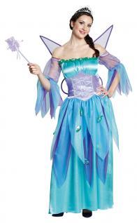 Karneval Klamotten Kostüm Waldfee Frühling Dame Kostüm Märchen Damenkostüm