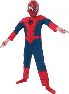 Karneval Klamotten Kostüm Spiderman Luxus Karneval Comics Kinderkostüm