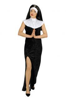 Kostüm Sexy Nonne Magdalena Karneval Nonnenkostüm Nonne Damenkostüm
