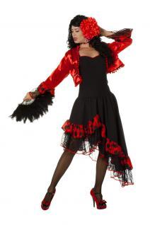 Karneval Klamotten Kostüm Spanierin Evita Dame Kostüm Spanien Damenkostüm