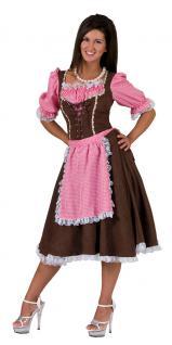 Karneval Klamotten Kostüm Dirndl Mia Dame Oktoberfest Damenkostüm