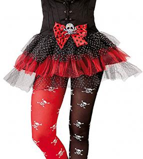 Karneval Klamotten Kostüm Tüll Tutu Totenkopf Mädchen Halloween Kinderkostüm