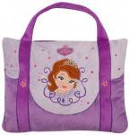 Sofia Prinzessin Disney Tasche und Kissen in einem, Dekokissen Kuschelkissen