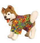Karneval Klamotten Kostüm Hippie für Hunde Karneval Hundenkostüm
