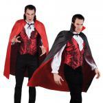 Karneval Klamotten Kostüm Wendeumhang Halloween Vampir Herrenkostüm Einheitsgr.