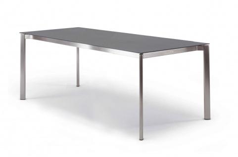 Esstisch Swing mit eingerückter Zarge 130 × 80 cm von Fischer Möbel