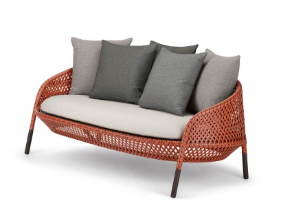 DEDON AHNDA 2er-Sofa exkl. Kissenset