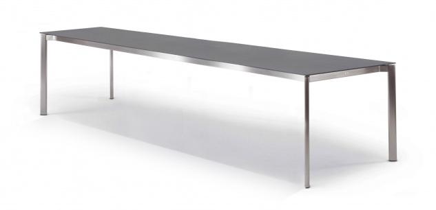 Esstisch Swing mit eingerückter Zarge 320 × 100 cm von Fischer Möbel