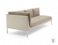 DEDON MU modulierbares Sofa, Modul rechts XXL