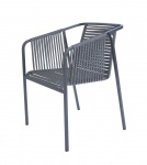 Fischer Möbel Suite Armlehnstuhl exkl. Sitzauflage • Gewebe granite oder basalt