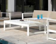 Lift up table 161 mit Aluplatte Summer Lounge von Rausch