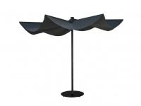 Calma 'OM' Sonnenschirm aus Aluminium eloxiert Ø 300 cm