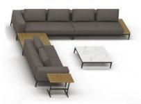 Gloster Grid Loungegruppe D 412 × 482 cm
