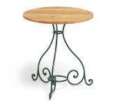 Tisch aus Schmiedeeisen Classic von Weishäupl Ø 65 cm