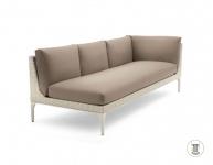 DEDON MU modulierbares Sofa, Modul links XXL